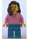 Minifig No: adp008  Name: Carnival Woman