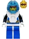 Minifig No: aqu001  Name: Aquanaut 1