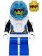 Minifig No: aqu001  Name: Aquanaut 1