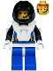Lot ID: 207763607  Minifig No: aqu003  Name: Aquanaut 3