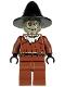Minifig No: bat016  Name: Scarecrow, Glow in the Dark Head