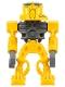 Minifig No: bio024  Name: Bionicle Mini - Toa Mahri Bright Light Orange