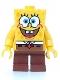 "Minifig No: bob001  Name: SpongeBob - Basic ""I'm Ready"" Look"