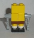 Minifig No: bob009  Name: Robot SpongeBob without Sticker