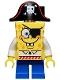Minifig No: bob032  Name: SpongeBob - Pirate
