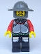 Minifig No: cas037  Name: Knights' Kingdom I - Knight 1, no Quiver