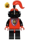 Minifig No: cas063  Name: Royal Knights - Knight 2 with Plume
