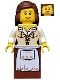 Minifig No: cas404  Name: Fantasy Era - Maid