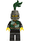Minifig No: cas454  Name: Kingdoms - Dragon Knight Quarters, Helmet Closed, Long Brown Moustache