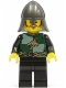 Minifig No: cas461  Name: Kingdoms - Dragon Knight Quarters, Helmet with Neck Protector, Moustache and Stubble