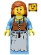 Minifig No: cas490  Name: Kingdoms - Peasant, Maiden
