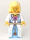 Minifig No: cas515  Name: Princess, Bright Light Yellow Hair