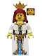 Minifig No: cas533  Name: Castle - Lion Princess