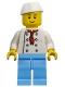 Minifig No: chef024  Name: Chef - Fishmonger