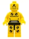 Minifig No: col008  Name: Demolition Dummy, Series 1 (Minifigure Only without Stand and Accessories)
