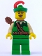 Minifig No: col014  Name: Forestman, Series 1 (Minifigure Only without Stand and Accessories)
