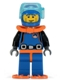 Minifig No: col015  Name: Deep Sea Diver, Series 1 (Minifigure Only without Stand and Accessories)