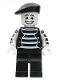 Minifig No: col025  Name: Mime, Beret - Minifigure only Entry