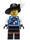 Minifig No: col051  Name: Musketeer - Minifigure only Entry