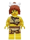Minifig No: col069  Name: Cave Woman - Minifigure only Entry