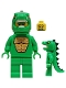 Minifig No: col070  Name: Lizard Man - Minifigure only Entry