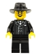 Minifig No: col079  Name: Gangster - Minifigure only Entry