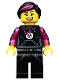 Minifig No: col092  Name: Skater Girl - Minifigure only Entry
