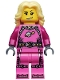Minifig No: col093  Name: Intergalactic Girl - Minifigure only Entry