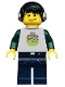 Minifig No: col124  Name: DJ - Minifigure only Entry