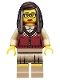 Minifig No: col145  Name: Librarian - Minifigure only Entry