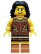 Minifig No: col148  Name: Warrior Woman - Minifigure only Entry