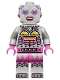 Minifig No: col178  Name: Lady Robot - Minifigure only Entry