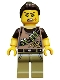 Minifig No: col188  Name: Dino Tracker - Minifigure only Entry