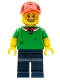 Minifig No: col189  Name: Pizza Delivery Guy - Minifigure only Entry