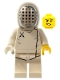 Minifig No: col205  Name: Fencer - Minifigure only Entry