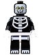 Minifig No: col221  Name: Skeleton Guy - Minifigure only Entry