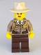 Minifig No: col274  Name: Swamp Police - Detective Female
