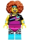Minifig No: col299  Name: Dance Instructor - Minifigure only Entry