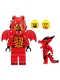Minifig No: col318  Name: Dragon Suit Guy - Minifigure only Entry