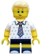 Minifig No: col327  Name: Birthday Party Boy - Minifigure only Entry