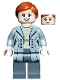 Minifig No: col331  Name: Claire Dearing, Light Bluish Gray Jacket