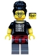 Minifig No: col345  Name: Programmer - Minifigure only Entry