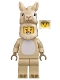 Minifig No: col364  Name: Llama Costume Girl - Minifigure Only Entry