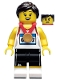 Minifig No: col368  Name: Athlete - Minifigure Only Entry