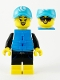 Minifig No: col374  Name: Paddle Surfer - Minifigure Only Entry