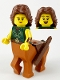 Minifig No: col379  Name: Centaur Warrior - Minifigure Only Entry
