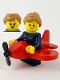 Minifig No: col382  Name: Airplane Girl - Minifigure Only Entry