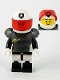 Minifig No: col383  Name: Space Police Guy - Minifigure Only Entry