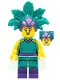 Minifig No: col385  Name: Cabaret Singer - Minifigure Only Entry
