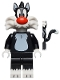 Minifig No: collt06  Name: Sylvester - Minifigure only Entry